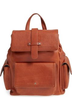 Treasure amp Bond Leather Utility Backpack available at  Nordstrom Brown  Bags 1b91c9ee784aa