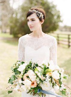 wedding sparrow - vow renewal - bouquet