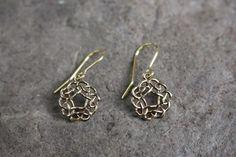 Pentagon Knot Celtic Earrings Diamond Earrings, Drop Earrings, Pentagon, Celtic Knot, Knots, Jewelry, Diamond Studs, Jewlery, Jewels