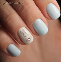 Simple and Amazing Gel Nail Designs For Summer - Page 49 of 50 - SooPush 20 Popular Spring Nail Art Design Ideas 2020 Trend Top Simple Nail Designs for Short Nails - Purple Easter Nail Designs, Nail Designs Spring, Nail Art Designs, New Nail Art Design, Design Art, Diy Nails, Cute Nails, Pretty Nails, Cute Spring Nails