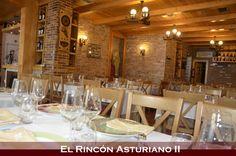Todo listo!!! ...en breve este salón se llenará de los sabores y olores de la auténtica cocina asturiana!!!
