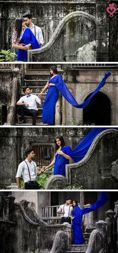 Amazing Indian Pre-wedding Love Story Shot - Bride and Groom in a Nice Outfits. Indian Wedding Couple Photography, Wedding Couple Photos, Couple Photography Poses, Fashion Photography, Bridal Photography, Pre Wedding Poses, Pre Wedding Shoot Ideas, Pre Wedding Photoshoot, Couple Photoshoot Poses
