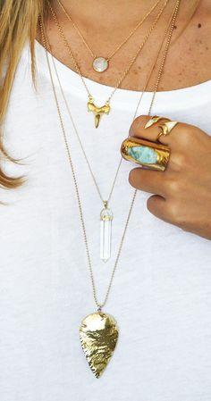 all layered up! | kei jewelry