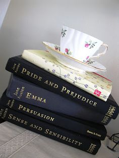 Jane Austen and tea - who could ask for anything more? You must read them all - each more wonderful than the last.