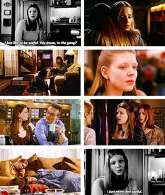 Tara: I just like to be useful. You know, to the gang? I just never feel useful. #btvs
