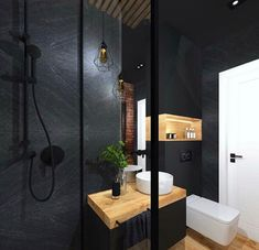 Bathroom Design Small, Bathroom Interior Design, Modern Bathroom, Interior Decorating Styles, Workspace Design, Upstairs Bathrooms, Bathroom Organisation, Bathroom Inspiration, House Design