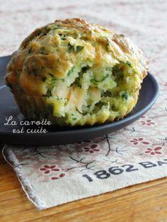 Muffin épinard & saumon | La carotte est cuite