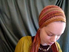 ▶ How to tie the Eastern Princess head scarf - YouTube