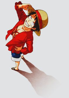 Monkey D. Luffy. One Piece Anime