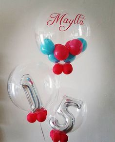 LED Clear personalize Balloon inside a Jumbo round Balloons orbz bubble Tulle Balloons, Jumbo Balloons, Clear Balloons, Round Balloons, Confetti Balloons, Balloon Inside Balloon, Balloon Gift, Balloon Garland, Balloons Online
