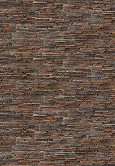 The experts in natural stone Brick Texture, Tiles Texture, 3d Texture, Brick And Stone, Faux Stone, Exterior Design, Interior And Exterior, Brick Paper, Stone Facade