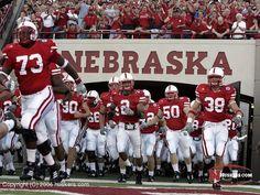 Memorial Stadium in Lincoln for a Nebraska Husker football game. Go Big Red!