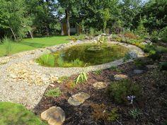 zahrada s jezírky