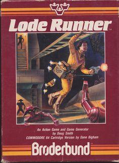 Lode Runner /via ChrisFAustralia #flickr #retro #videogame #Broderbund #C64