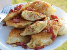 Polish Recipes, Polish Food, Dumplings, Potato Salad, Main Dishes, Stuffed Mushrooms, Good Food, Food And Drink, Healthy Eating