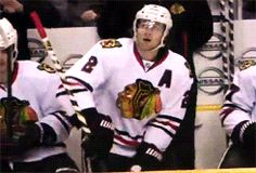 Duncan Keith - Good at hockey, not so good at benches. 17/12/13