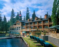 The Pines Resort at Bass Lake, Yosemite National Park, California
