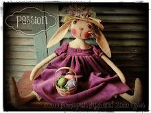 Homespun Hugs and Calico Kisses Primitives: Rosie