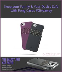 Keep your family & your device safe with Pong Cases. #giveaway from @5minutesformom