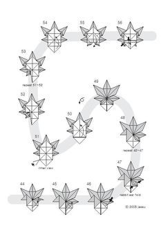 Free Printable Origami Rose If you haven't folded any origami example earlier, welcome to the fun of folding origami rose flower. Modular Origami, Origami Folding, 3d Origami, Origami Paper, Origami Maple Leaf, Origami Leaves, Free Printable Cards, Free Printables, Origami Examples