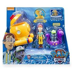Paw Patrol - Captain Turbot Bath Playset Image 2 of 8 Baby Doll Nursery, Baby Girl Toys, Toys For Girls, Toddler Toys, Kids Toys, Power Ranger Party, Paw Patrol Toys, Princess Gifts, Toy R