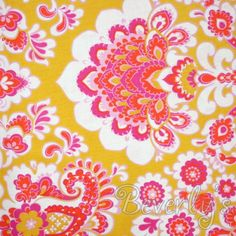 1960's fabric pattern- backdrop for pictures!
