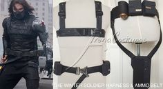 The Winter Soldier front harness & ammo belt