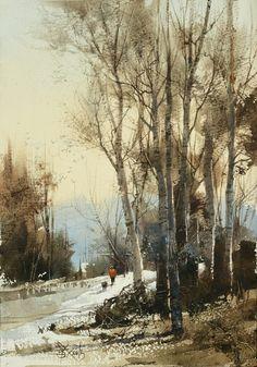 Chien Chung Wei 014 雪裡紅 17.5 x 25.2 cm (16開)