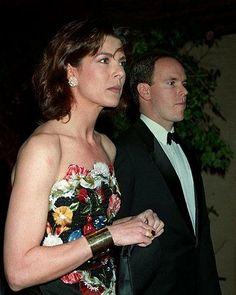 Caroline and Albert of Monaco...