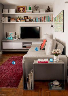 21 soluções para ampliar um apartamento de 58 m2 - Casa
