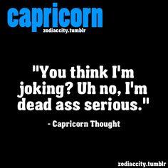 Zodiac City Capricorn thought