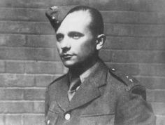 Josef Gabnik, a Czech resistance fighter and parachutist who participated in the assassination of Reinhard Heydrich, the Nazi governor of Bohemia and Moravia. Prague, Czechoslovakia, probably May 1942.  — Czechoslovak News Agency
