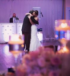 Your first dance is a very special moment on your wedding day. Make sure you have an entertainment company that cares about those special moments!