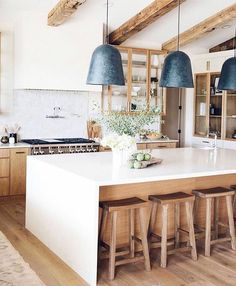 """Kathy Kuo on Instagram: """"As some of you already know, ceiling beams are one of my favorite interior architectural features. What better way is there to incorporate…"""""""