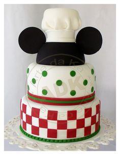 #Bolos#Mickey e Minnie |#pizza party cake