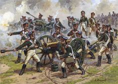 Image result for russian napoleonic artillery