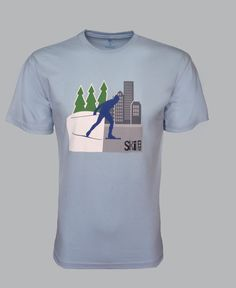 Camiseta #SkinaRua  R$ 69 Adquirindo esta Camiseta,Você estará contribuindo diretamente com o Projeto Social Ski na Rua, pois parte do valor da venda sera destinada ao projeto.  Compre com propósito e faça a diferença.