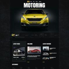 Car  Website Theme
