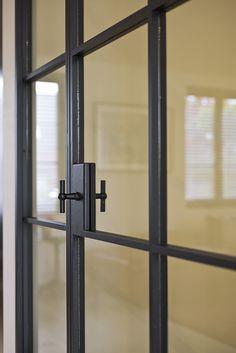 Modern Windows And Front Doors Ideas Steel Frame Doors, Steel Doors And Windows, Metal Windows, Screen Design, Door Design, Crittal Doors, Door Handles Vintage, Glass Partition, Iron Doors