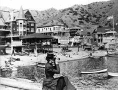 """Catalina Island """"Old Photo"""" California History, Vintage California, California Dreamin', Old Photos, Vintage Photos, Avalon Catalina, San Luis Obispo County, San Fernando Valley, Los Angeles Area"""