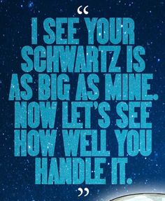 SPACEBALLS Dark Helmet Movie Quote Poster