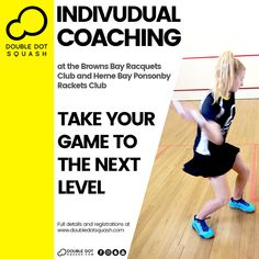 Double Dot Squash offers the largest range of programmes in Auckland for all ages and levels, and the most comprehensive junior squash framework in NZ. Squash Club, Play Squash, Double Dot, Goal Planning, Better One, Total Body, Are You The One, Improve Yourself, Competition