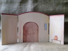 Backdrop - The Visitation of Mary and Elizabeth Wood Trifold