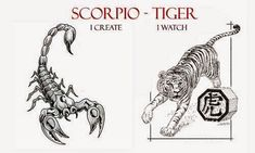 The Scorpio Tiger Personality Traits : Western and Chinese Zodiac Combination: At the risk of being accused of vest pocket autobiography, I confess that this sign is my very own. Moreover, I like my sign and have many friends of the same persuasion. Forgive me if I wax sentimental in this portrait