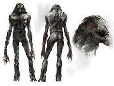 Dark One Mutant from Metro 2033
