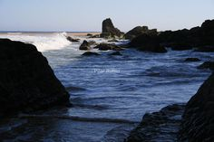 Playa brava en Cantabria, #Spain.