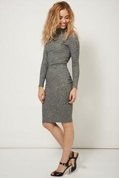 Wow!! Take a look at Ribbed High Colla... here at  http://www.born-east.com/products/ribbed-high-collar-jumper-dress?utm_campaign=social_autopilot&utm_source=pin&utm_medium=pin