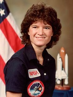 Sally K. Ride, 32, first US woman astronaut in space as a crew member aboard space shuttle Challenger (June 18, 1983)