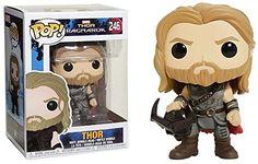 17d4dd35c91 Funko POP! Marvel Thor Ragnarok Thor  246 (holding Surtur... http