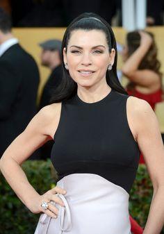 Celeb Diary: Julianna Margulies @ 2013 Screen Actors Guild Awards